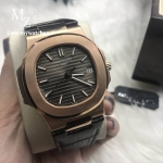 Patek Philippe 5711/1R-001 Rose Gold Leather Strap - Swiss Grade
