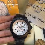 Breitling Super Avenger Watch - Black PVD/White Dial