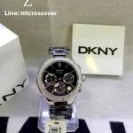 DKNY Women's NY4983 Black Ceramic Quartz Watch with Black Dial