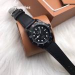 Tudor Heritage Black Bay Dark - Black Leather Strap
