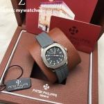 Patek Philippe Aquanaut Ladies - 5067 A-023 Grey Rubber with Diamond case