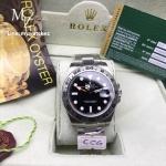 ROLEX Explorer II Superlative Ref.216570 - Black Dial