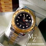 Rolex Yatch Master I - Gold Bezel with Black Dial