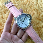 Panerai Luminor 049 - Pink Leather White Dial