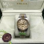Rolex Datejust Champagne Dial Two Tone Diamond Ref#116233 - Swiss Grade