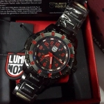 Luminox F-117 Nighthawk 6400 Series - Red Dial