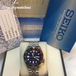 Seiko Automatic Diver SKX009K2 Dark Blue Dial - Jubilee Bracelet