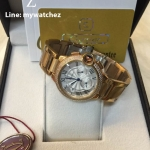 Cartier Ballon Blue Chronograph Yellow Gold (W6920002)