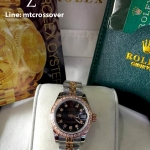 Rolex Datejust Lady - Yellow Gold Black Dial