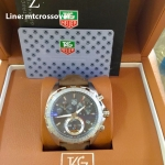Tag Heuer Formula 1 Anniversary - St Stainless Case andฺ Brown Leather Band