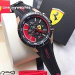 Scuderia Ferrari Chronograph Black and Red - 0830297