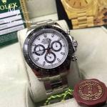 Rolex Cosmograph Daytona White Diak and Black Ceramic 116500LN - Swiss Grade