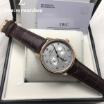 IWC Portugieser Automatic 7-day REF IW5001-13 - Silver Dial