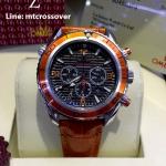 OMEGA Seamaster 007 Quantum of Solace Chronograph - Orange Leather Strap