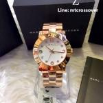 Marc Jacobs MBM3077 36mm Gold Steel Bracelet & Case Women's Watch