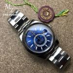 Rolex Sky-Dweller White Diak Ref: 326934 - Blue Dial CC Grade