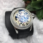 Corum Heritage Bubble Skeleton 47MM Stainless