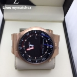 Porsche Design P6780 Diver - Red/Blue and Rose Gold