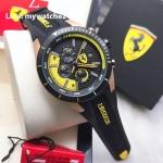 Scuderia Ferrari Chronograph Black and Yellow - 0830297