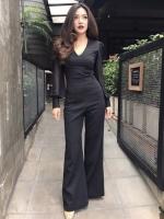 เสื้อผ้าแฟชั่นเกาหลี Normal Ally Present Boutique Kiran brand style classy playsuit