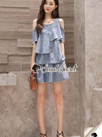 Seoul Secret Say's...Chic Blue Cotty Set