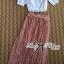 Lady Ribbon Korea Maxi Dress LR17130616 &#x1F380 Lady Ribbon's Made &#x1F380 Lady Lucy Summer Style Vintage Bohemian Set thumbnail 5