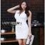 Lady Ribbon Suit Dress ชุดสูทเดรส thumbnail 3