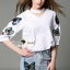 Lady Ribbon Korea Brand SS07060616 Seoul Secret Say's... Chic Shirt ButterFly Denim Set thumbnail 3