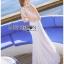 : Lady Ribbon Korea LB02160516 &#x1F380 Lady Ribbon's Made &#x1F380 Lady Nicole Sexy Chic High-Neck Graphic Lace Maxi Dress เดรสยาว แขนกุด คอสูงผ้าลูกไม้ลายกราฟฟิก thumbnail 5