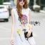 Lady Ribbon Korea Dress LR14060616 &#x1F380 Lady Ribbon's Made &#x1F380 Lady Chira Little Ballon Circus Embroidered White Lace Dress thumbnail 4