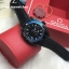 Omega Seamaster Planet Ocean 600M GMT Deep Black Collection/Blue Edition thumbnail 3