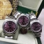 Rolex Oyster Perpetual Purple Dial Stick Hour thumbnail 1