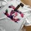 Lady Ribbon's Made &#x1F380 Chanel Vivid Floral Printed T-Shirt and Floral Printed Slouchy Pants Korea Set thumbnail 9