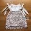 Lady Ribbon Korea Mini Dress LR18270616 &#x1F380 Lady Ribbon's Made &#x1F380 Lady Maria Sweet Sexy Stripy Ribbon Lace Dress thumbnail 5