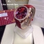Omega Speedmaster Chronograph 38 MM Ladies - Red/Diamonds thumbnail 1