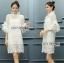 Lace Dress เดรสลูกไม้สไตล์โมเดิร์นวินเทจ thumbnail 1