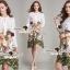 Lady Ribbon Korea Brand SS06300516 Seoul Secret Say's... Flamingo Print Girly Dress thumbnail 1