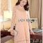 Lady Ribbon's Made &#x1F380 Lady Nara Classic Striped High-Neck Korea Lace Dress เดรสผ้าลูกไม้ thumbnail 8