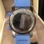 New Burberry Sport Chronograph Grey Dial Blue Rubber Men's Watch BU7706 thumbnail 4