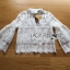 Lady Ribbon's Made &#x1F380 Lady Cara Feminine Flare-Sleeve Lace Blouse Korea Dress thumbnail 12