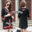 Lady Ribbon Embroidered Mini Dress thumbnail 1