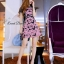 Lady Ribbon Korea Brand SW 05060616 Sweet Bunny Present... Daisy Pattern Dress thumbnail 3