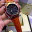 OMEGA Seamaster 007 Quantum of Solace Chronograph - Orange Leather Strap thumbnail 2