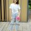 Lady Ribbon Korea Closet SB 07300516 Sweet Bunny Present... Rabbit Jeans Set thumbnail 4