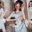 Closet Seoul Secret Say's... Pastel Vintage Tiggy Softly Denim Dress thumbnail 1