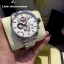 TAG Heuer V4 Stainless White Dial Red Sub-Second thumbnail 3