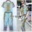 Lady Ribbon Korea Dress &#x1F380 Lady Ribbon's Made &#x1F380 Lady Evelyn Smart Casual Graphic Mixed Printed Set thumbnail 1