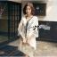Lady Ribbon Korea Dressเชิ้ต LR19270616  thumbnail 2
