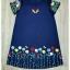 Lady Ribbon Korea Closet SB 02300516 Sweet Bunny Present... Embroidered Swan floral Dress thumbnail 4