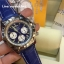 Breitling 1884 Chronomat Blue Dial and Leather Strap Ref # AB0110 thumbnail 3